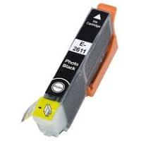 Картридж оригинальный (в технологической упаковке) фотографический черный Epson T2611 Photo Black (C13T26114010)
