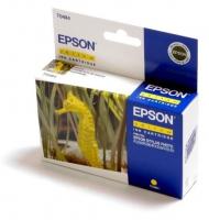 Картридж оригинальный (блистер) желтый (yellow) Epson T0484, ресурс 430 стр.