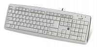 Клавиатура Genius KB-06XE, белый, USB