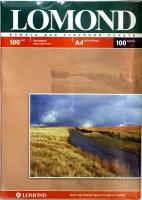 Lomond 0102002 Двусторонняя Матовая/Матовая фотобумага для струйной печати, A4, 100 г/м2, 100 листов