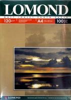 Lomond 0102003 Односторонняя матовая фотобумага для струйной печати, A4, 120 г/м2, 100 листов.