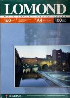 Lomond 0102005 Односторонняя Матовая фотобумага для струйной печати, A4, 160 г/м2, 100 листов