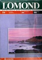 Lomond 0102006 Двусторонняя Матовая/Матовая фотобумага для струйной печати, A4, 170 г/м2, 100 листов.