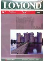 Lomond 0102011 односторонняя матовая фотобумага для струйной печати, A3, 90 г/м2, 100 листов.