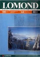 Lomond 0102014 Односторонняя матовая фотобумага для струйной печати, A 4, 180 г/м2, 50 листов