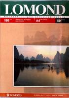Lomond 0102019 Двусторонняя глянцевая/матовая фотобумага для струйной печати, A4,180 г/м2, 50 листов.