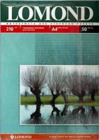 Lomond 0102021 Двусторонняя глянцевая/матовая фотобумага для струйной печати, A4, 210 г/м2, 50 листов.  .