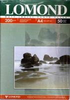Lomond 0102033 Двусторонняя Матовая/Матовая фотобумага для струйной печати, A4, 200 г/м2, 50 листов.