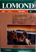 Lomond 0102034 Односторонняя матовая фотобумага для струйной печати, A6, 230g/m, 50 листов.
