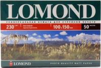 Lomond 0102084 Односторонняя Матовая фотобумага для струйной печати, A6, 230 г/м2, 100 листов.