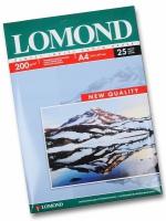 Lomond  0102046 Односторонняя Глянцевая фотобумага для струйной печати, A4, 200 г/м2, 25 листов