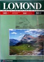 Lomond 0102054 Односторонняя глянцевая фотобумага для струйной печати, A4, 140 г/м2, 50 листов.