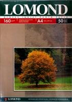 Lomond 0102055 Односторонняя глянцевая фотобумага  для струйной печати, A4, 160  г/м2, 50 листов.