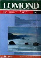 Lomond 0102056 Двусторонняя глянцевая/матовая фотобумага для струйной печати,  A4, 170 г/м2, 50 листов.
