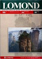 Lomond 0102065 Двусторонняя глянцевая/глянцевая фотобумага для струйной печати, A4, 180 г/м2, 50 листов.