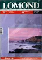 Lomond 0102077 глянцевая/матовая фотобумага для струйной печати, A4, 170 г/м2, 25 листов.