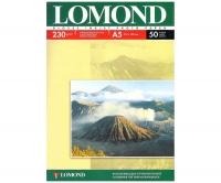 Lomond 0102070 Односторонняя глянцевая фотобумага для струйной печати, A5, 230 г/м2, 50 листов.