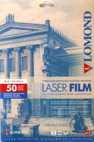 Lomond 0705415 Пленка для ч/б лазерных принт. прозрачная одност.А4, 50л. 100 мкм