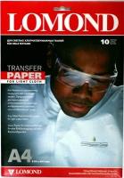 Бумага Lomond 0808411 (Ink Jet Transfer Paper for Bright Cloth) для перевода изображений на светлую ткань, A4, 10 л.