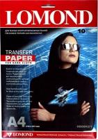 Бумага Lomond 0808421 (Ink Jet Transfer Paper for Dark Cloth), для перевода изображений на темную ткань, A4, 10 л.