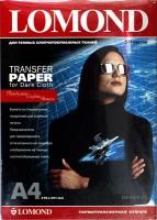 Бумага Lomond 0808425 (Ink Jet Transfer Paper for Dark Cloth) для перевода изображений на темную ткань, A4, 50 л.
