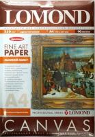 Lomond  0908421  Холст для пигментных чернил A4, 10 листов