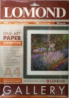 Lomond 0912141 Fine-Grainy Natural White -Двусторон.Зернистая слабовыраженная  натур-бел. A4 ,180g/m, 10 лист.