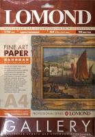 Lomond 0913041 Linen Natural White- Льняная Средневыраж.одностор.натур.-белая, A4, 170 g/m10 лист.