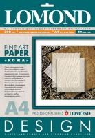 Lomond 0917041 Leather- Кожа -односторонняя Матовая,ярко-белая A4, 200g/m,10 листов