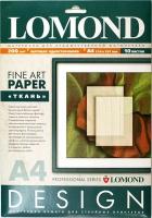 Lomond 0919041 Textile-Ткань- односторонняя Матовая,ярко-белая A4 ,200g/m  ,10 листов ,