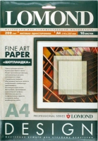 Lomond 0921041 Tartan- Шотландка односторонняя Матовая ярко-белая, A4,200g/m  10 листов ,