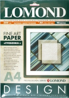 Lomond 0927041 Frontier- Гребенка- односторонняя, Матовая, ярко-белая , A4, 200g/m  10 листов ,