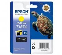 Картридж оригинальный (блистер) желтый (yellow) Epson T1574 XL / C13T15744010, объем 25,9 мл.