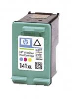 Картридж оригинальный (в технологической упаковке) HP CB338HE  (№141XL) Color, ресурс 580 стр.