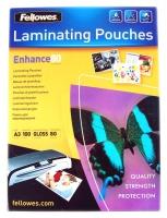 Пленка для ламинирования А3, 100 листов, 75/80 мкм, Fellowers