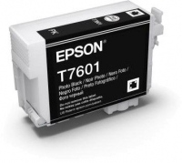 Картридж оригинальный (блистер) Epson T7601 (C13T76014010) Photo Black