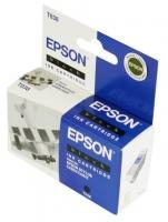 Картридж оригинальный (блистер) черный Еpson T038 black, ресурс 220 стр.