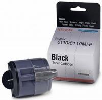Картридж оригинальный черный (black) Xerox 106R01203 (Phaser 6110) , ресурс 2000 стр.