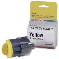 Картридж оригинальный желтый (yellow) Xerox 106R01204 (Phaser 6110), ресурс 1000 стр.
