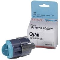 Картридж оригинальный голубой (cyan) Xerox 106R01206 (Phaser 6110), ресурс 1000 стр.
