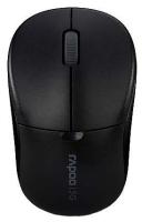 Оптическая беспроводная мышь Rapoo 1090p Black USB