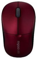Оптическая беспроводная мышь Rapoo 1090p Red USB