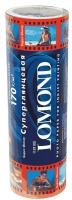 Lomond 1101105 Ролик 170g/m, 210 mm х 8m, суперглянцевая ,ярко-белая ,микропористая