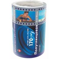 Ролик Lomond 1101301 (Semi Glossy Bright), полуглянцевая, 100 мм х 8 м, 170 г/м2