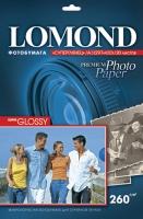 Lomond 1103130 (Super Glossy Bright) -односторонняя Суперглянцевая ,ярко-белая  A3 260g/m, 20 лист.