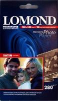 Lomond 1104202 (Satin Warm)- Cатин (полуглянц) односторонняя  Атласная тепло-белая  A6 (10*15), 280 г/м,20 л.