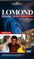 Lomond 1109101(Super Glossy Bright)-односторонняя Суперглянцевая ярко-белая А6 300g/m, 20 лист.