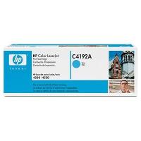 Картридж оригинальный голубой (cyan) HP C4192A, ресурс 6000 стр.
