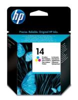 Картридж оригинальный HP C5010DE (№14) Color, объем 23 мл.