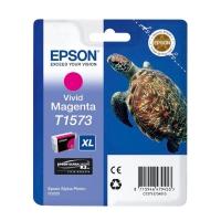 Картридж оригинальный (блистер) пурпурный (magenta) Epson T1573 XL / C13T15734010, объем 25,9 мл.